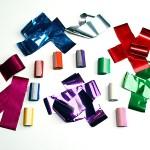 1 1/2-inch X 5-inch Metallic FETTI Strips