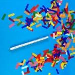 14-inch Flutter FETTI Confetti Stick
