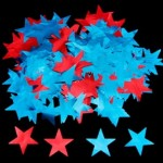2-inch Die Cut Metallic Stars